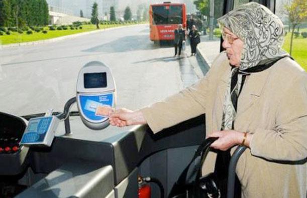 65 yaş üstü ve engelliye ücretsiz ulaşım