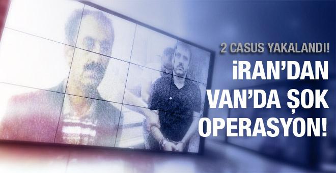 İran'dan Van'da şok operasyon! 2 casus yakalandı!