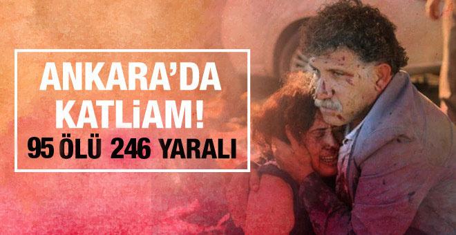 Ankara'da mitingde patlama! Onlarca ölü ve yaralı var!
