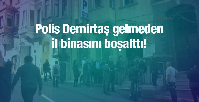 HDP istanbul il binası boşaltıldı!