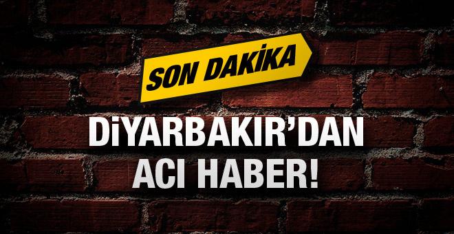 Diyarbakır'dan acı haber! 1 polis şehit!