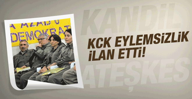 KCK'dan flaş eylemsizlik açıklaması!