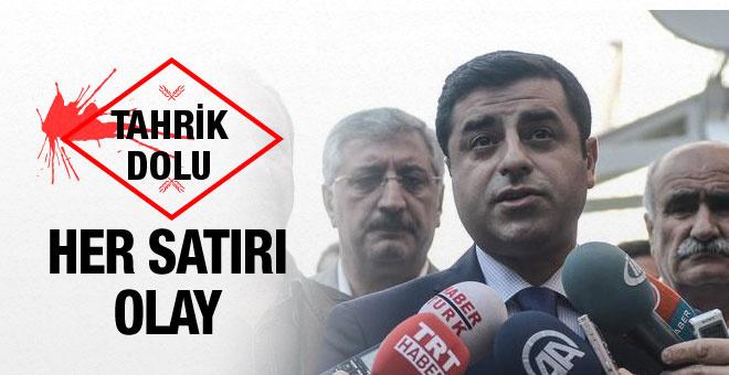 Selahattin Demirtaş'dan patlama için olay sözler