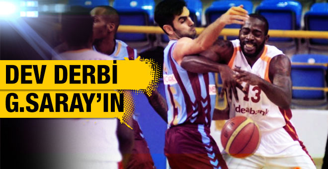 Sezonun ilk derbisi Galatasaray'ın
