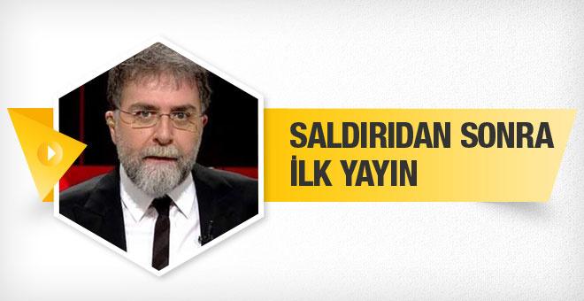 Ahmet Hakan ekranlara geri döndü
