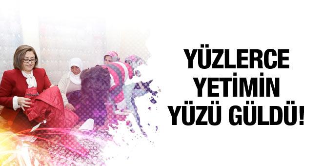 Gaziantep'te yetim çocuklarımızın yüzünü güldüren uygulama!