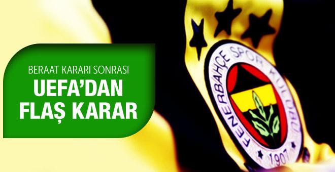 Fenerbahçe beraat etti UEFA ne yapacak?