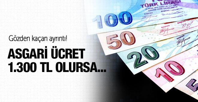 Şimşek: Asgari ücret 1.300 lira olursa...