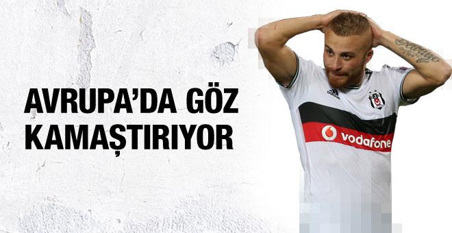 Beşiktaş'ın yıldızı Avrupa Ligi'nde 4. sırada