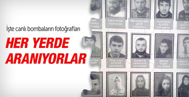 IŞİD'in 21 canlı bombacısı fotoğrafları yayınlandı
