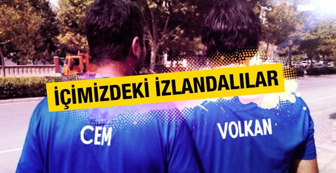 Türkiye İzlanda maçı öncesi ilginç görüntü