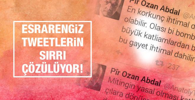 Esrarengiz Ankara tweetleri için flaş gelişme!
