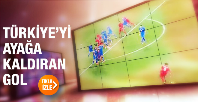 Selçuk İnan'dan İzlanda'yı yıkan gol