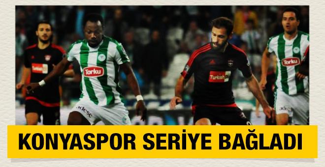 Konyaspor seriye bağladı