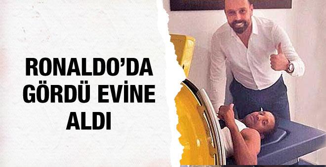 Fenerbahçeli Nani Real Madridli Ronaldo'yu örnek aldı...