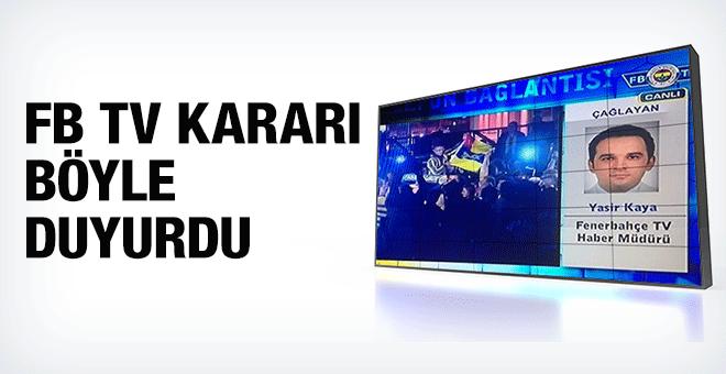 FB TV mahkeme kararını böyle duyurdu!
