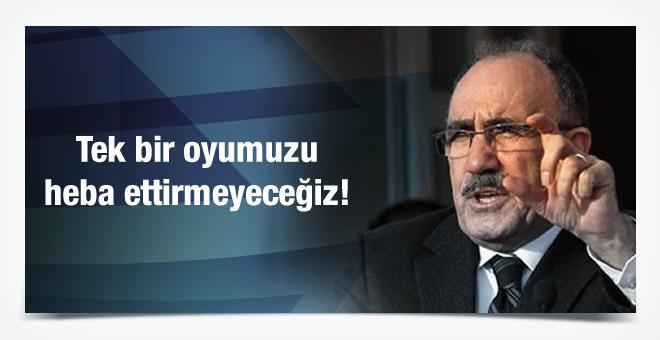 Beşir Atalay'dan 1 Kasım için iddialı çıkış!