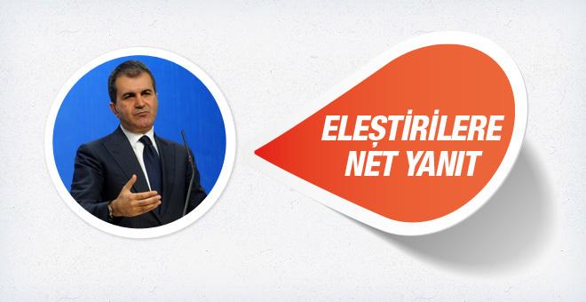 AK Partili Ömer Çelik'ten sandık güvenliği açıklaması