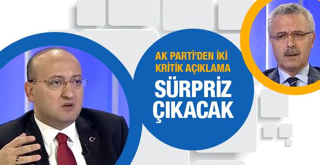 Seçimde sürpriz çıkacak AK Parti'den iki açıklama