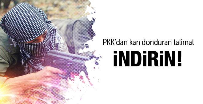 PKK'dan kan donduran talimat! İndirin