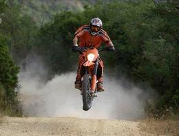 Alanya'da motokros heyecanı