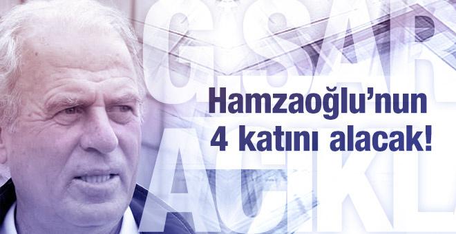 Denizli Hamzaoğlu'nun 4 katını alacak