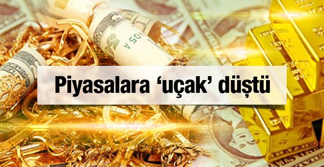 Dolar kuru coştu altın fiyatları bugün dipte