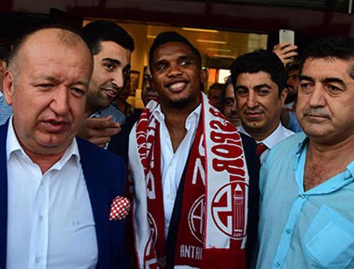 Eto'o'nun en beğendiği takım Beşiktaş