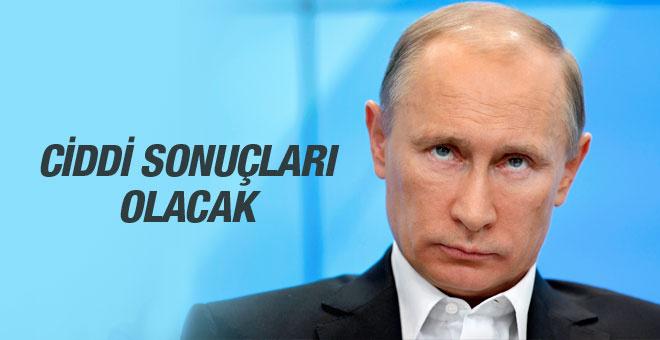 Putin'den olay sözler sırtımızdan bıçakladılar