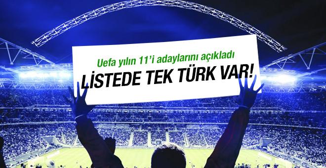 Hakan Çalhanoğlu yılın 11'i içine girdi