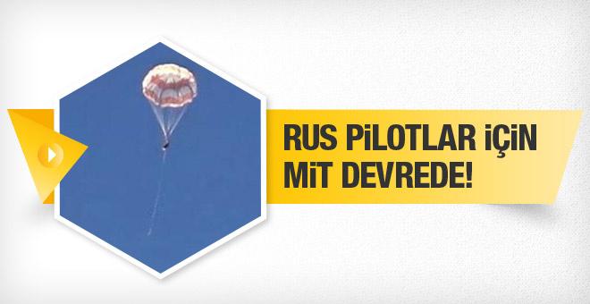 Rus pilotlar yaşıyor! MİT devreye girdi!