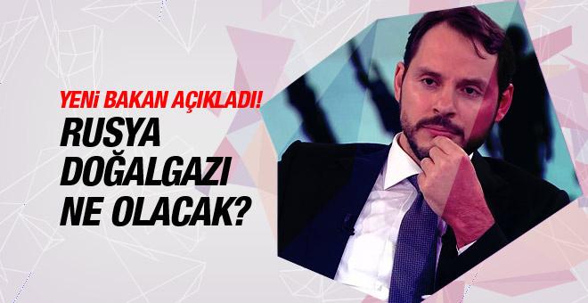 Yeni Bakan Berat Albayrak'tan Rusya yorumu!