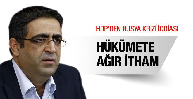 HDP'li Baluken'den şok Rusya krizi açıklaması