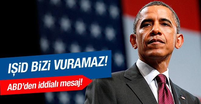 Obama'dan iddialı IŞİD mesajı!