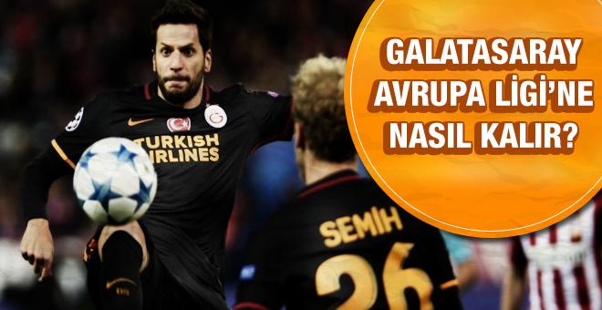Galatasaray Avrupa Ligi'ne nasıl kalır?