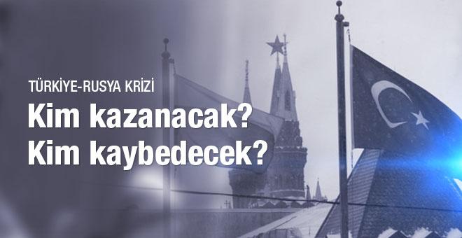 Rusya Türkiye ticari krizinde kim kazanır kim kaybeder?