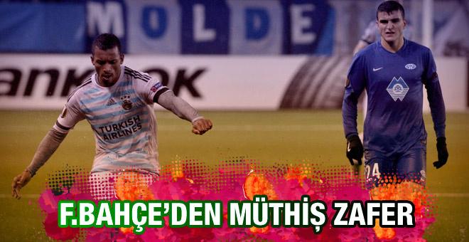 Fenerbahçe Molde maçının sonucu ve özeti
