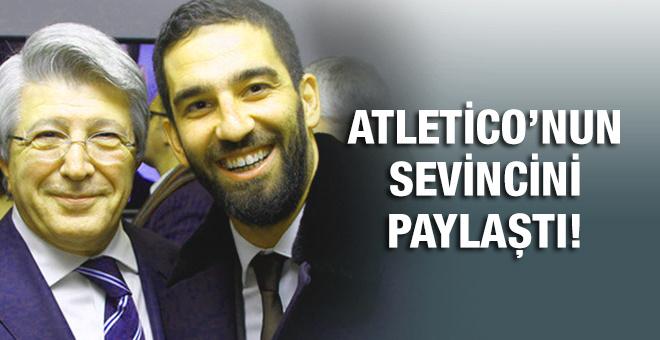 Arda Atletico'nun sevincine ortak oldu!
