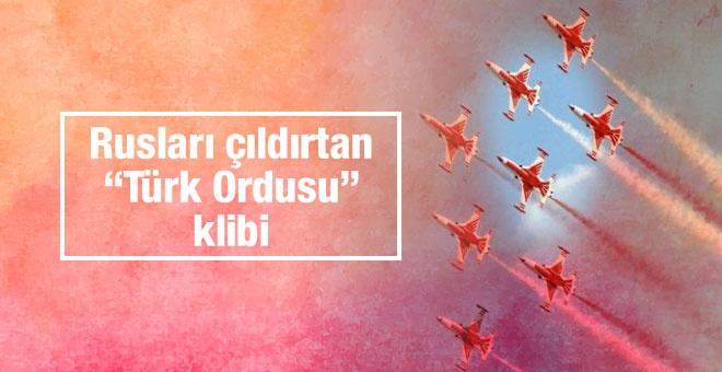 Rusya'yı çıldırtacak Türk Ordusu klibi