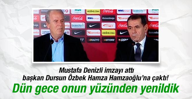 Mustafa Denizli imzayı attı! Resmen Galatasaray'da