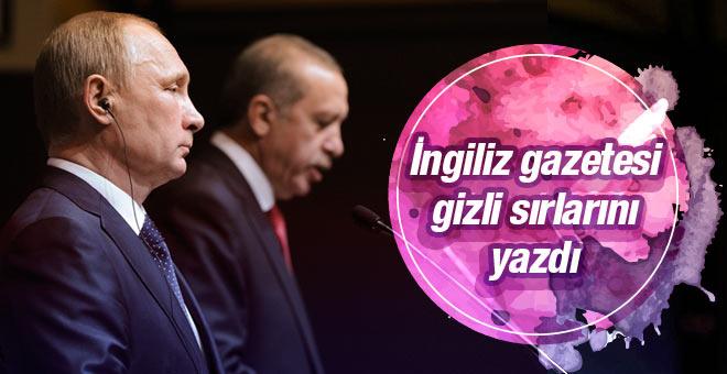 FT Erdoğan ve Putin'in gizli sırlarını yazdı