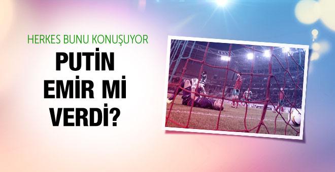Lokomotiv'in yenilgisinde Putin şüphesi!