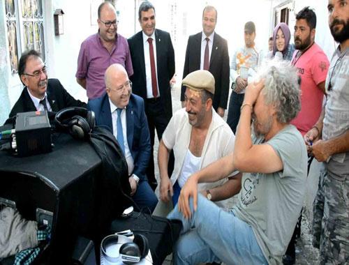 Cem Yılmaz 'İftarlık Gazoz' setinde