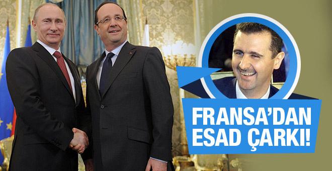 Rusya ile anlaşan Fransa'dan Esad çarkı!