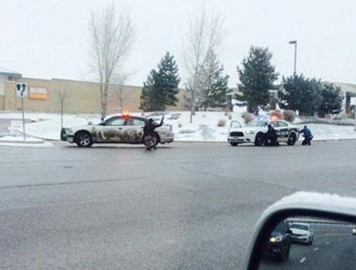 ABD'de silahlı saldırı! 4 polis yaralı!