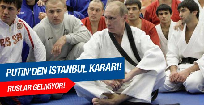 Rusya, İstanbul'daki şampiyonaya katılmayacak!