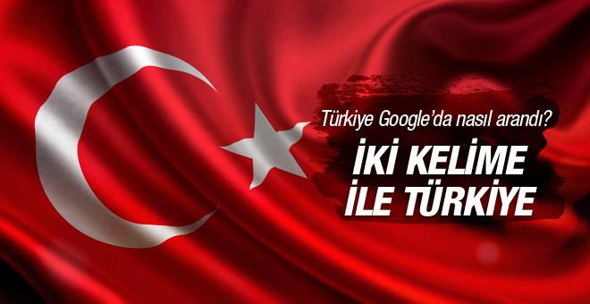 İşte sadece iki kelime ile Türkiye!
