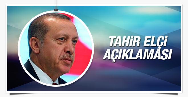 Cumhurbaşkanı Erdoğan'dan Tahir Elçi açıklaması