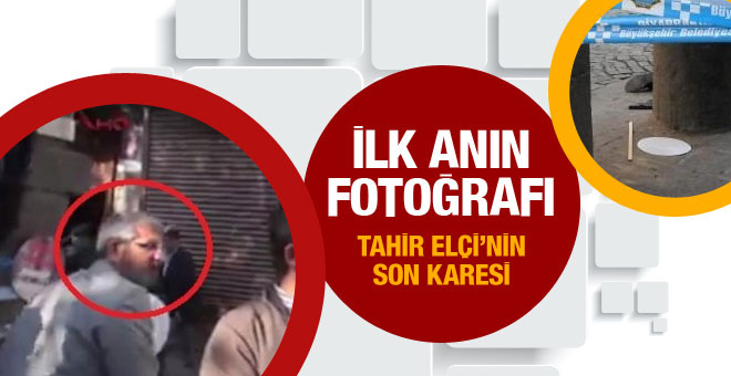 Tahir Elçi'nin öldürüldüğü olayın ilk fotoğrafları