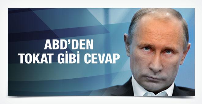 ABD'den Putin'in sözlerine tokat gibi cevap